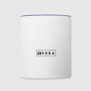 VODKA - Contrast Coffee Mug