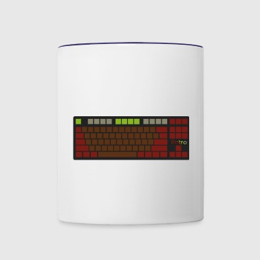 Retro - Contrast Coffee Mug