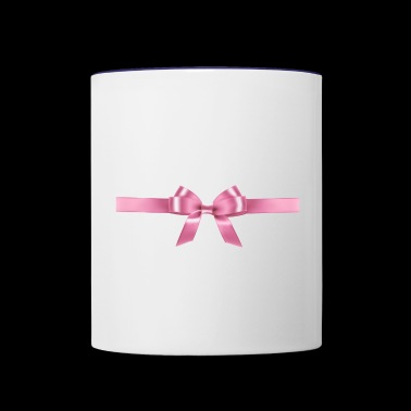 Pink Ribbon - Contrast Coffee Mug