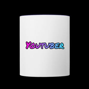 Youtuber! - Contrast Coffee Mug