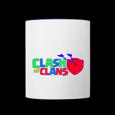 Clash of Clans logo Love - Contrast Coffee Mug
