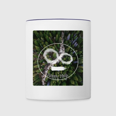 Happy High and Forest - Contrast Coffee Mug