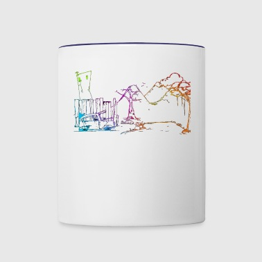 Light scene - Contrast Coffee Mug