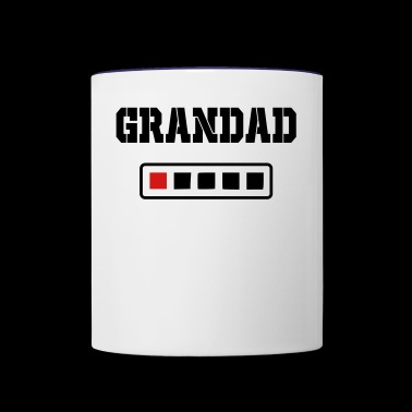 grandad energy - Contrast Coffee Mug