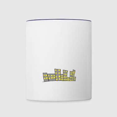 City - Contrast Coffee Mug