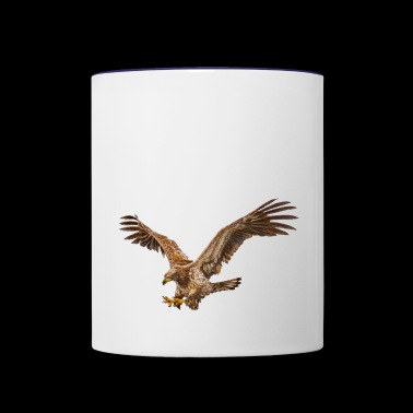 Eagle predator - Contrast Coffee Mug