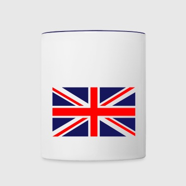 british flag - Contrast Coffee Mug