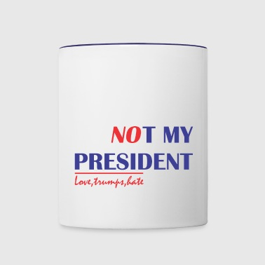 Not President - Contrast Coffee Mug