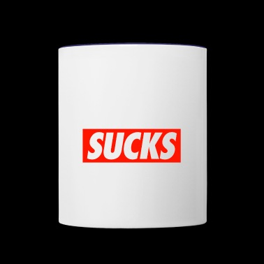 SUCKS - Contrast Coffee Mug