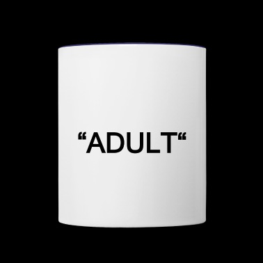 ADULT - Contrast Coffee Mug