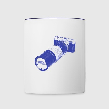 rear window - Contrast Coffee Mug