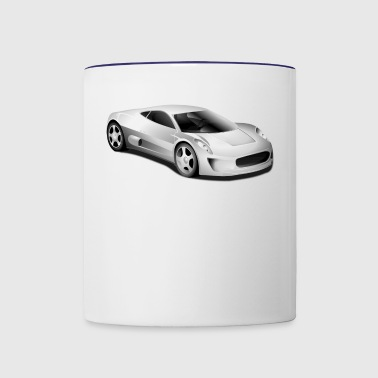 car - Contrast Coffee Mug