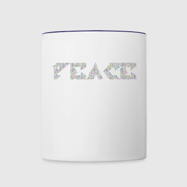 Peace - Contrast Coffee Mug