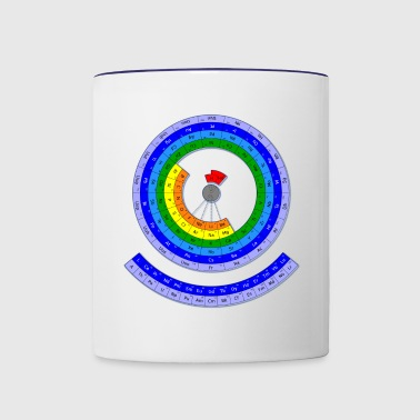 The Periodic Table of the Chemical Elements - Contrast Coffee Mug