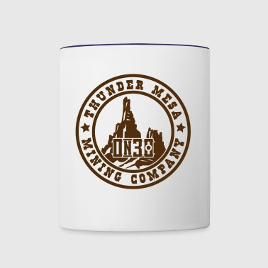 A Thunder Mesa Mining Co. Herald On30 - Contrast Coffee Mug