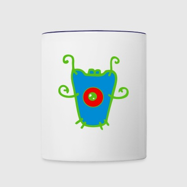 AN ALIEN - Contrast Coffee Mug