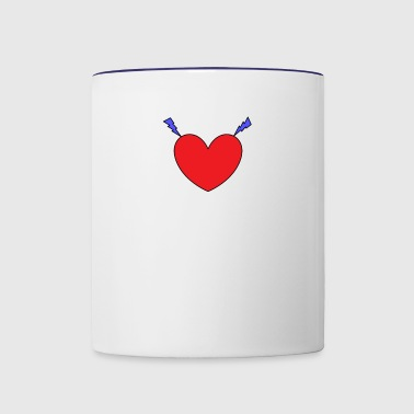 brighting love - Contrast Coffee Mug