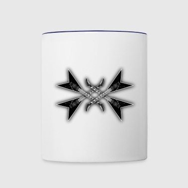 metal music - Contrast Coffee Mug