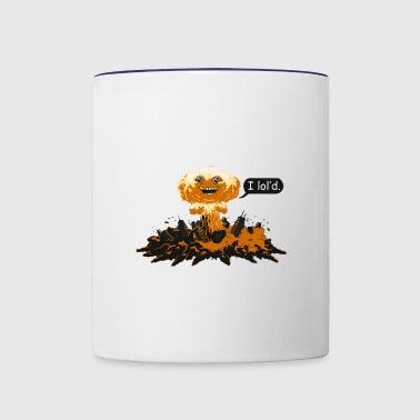 The polluted city - Contrast Coffee Mug