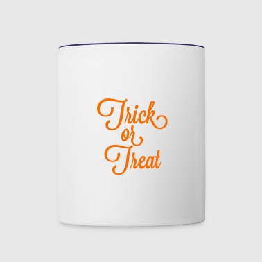 Trick or Treat - Contrast Coffee Mug