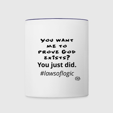Laws of Logic - Contrast Coffee Mug