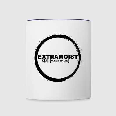 ExtraMoist Signature Circle Black - Contrast Coffee Mug