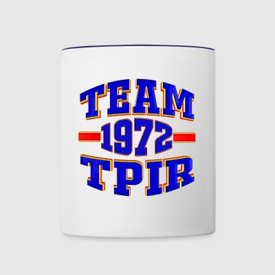 TV Game Show Contestant - TPIR (The Price Is...) - Contrast Coffee Mug