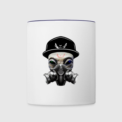 E.2. - Contrast Coffee Mug