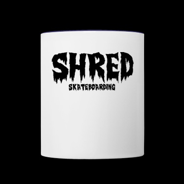 Shred Skateboarding - Contrast Coffee Mug