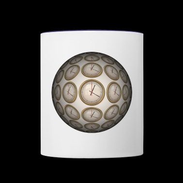 Clocks - Contrast Coffee Mug
