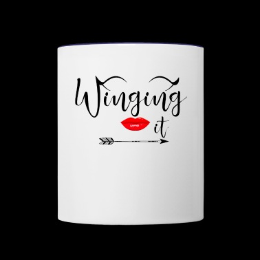 Winging It - Contrast Coffee Mug