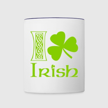 I Shamrock Irish - Contrast Coffee Mug