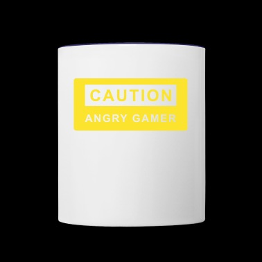 Gamer. Games. Computer. X-box - Contrast Coffee Mug