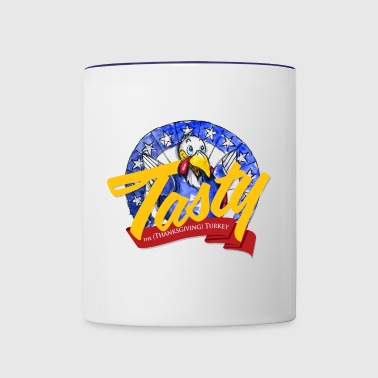 Tasty the Turkey - Contrast Coffee Mug