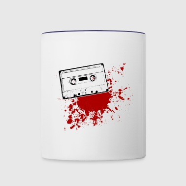 old school music tape - Contrast Coffee Mug