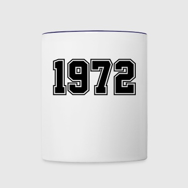 1972 | Year of Birth | Birth Year | Birthday - Contrast Coffee Mug