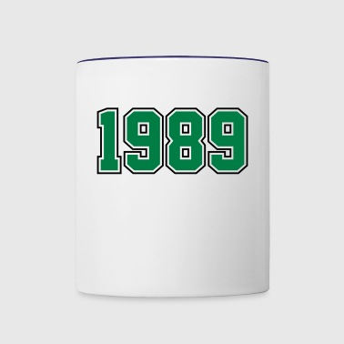 1989 | Year of Birth | Birth Year | Birthday - Contrast Coffee Mug