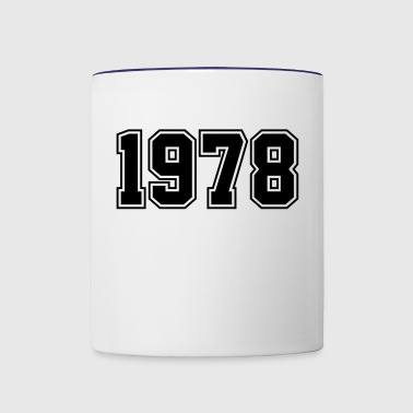 1978 | Year of Birth | Birth Year | Birthday - Contrast Coffee Mug