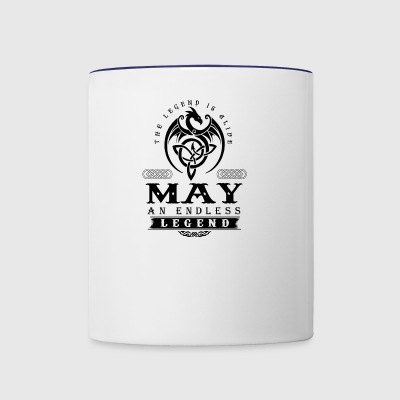 MAY - Contrast Coffee Mug