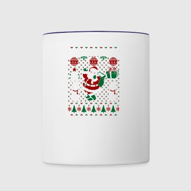 Christmas Ugly Sweater Plymouth Minnesota - Contrast Coffee Mug
