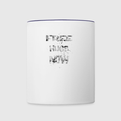 free hugs now 1 - Contrast Coffee Mug