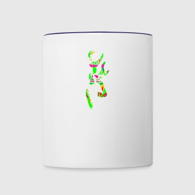 multi color deer - Contrast Coffee Mug