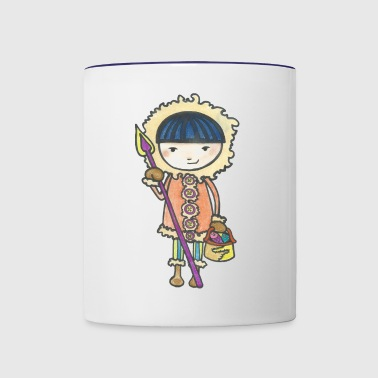 Akiou the little Inuit - Contrast Coffee Mug