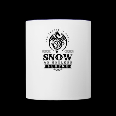 SNOW - Contrast Coffee Mug