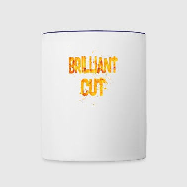 brilliant cut - Contrast Coffee Mug