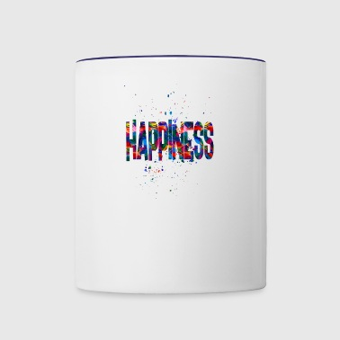 happiness - Contrast Coffee Mug