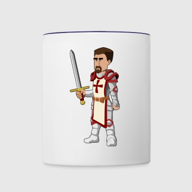 crusader - Contrast Coffee Mug