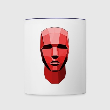 head - Contrast Coffee Mug
