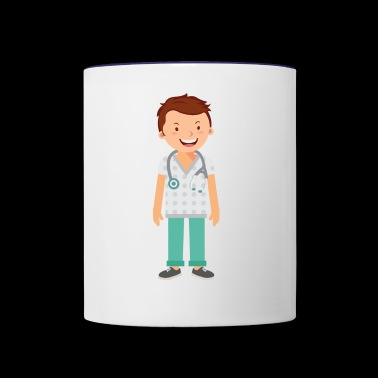 doctor - Contrast Coffee Mug