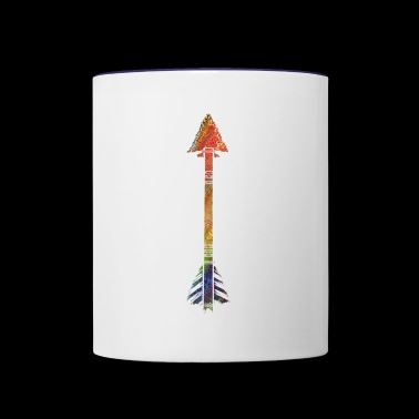 arrow - Contrast Coffee Mug